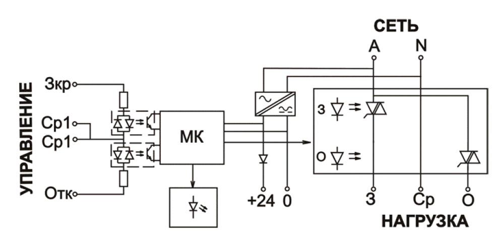 Схема подключения МСТ-310Р,