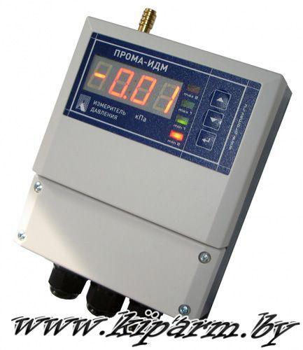Измерители давления ПРОМА-ИДМ-010 со встроенным датчиком. Фото настенное исполнение
