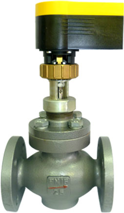 Клапан регулирующий КР с приводом Sauter AVM115