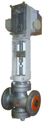 Клапан регулирующий КР с приводом МЭПК-1600
