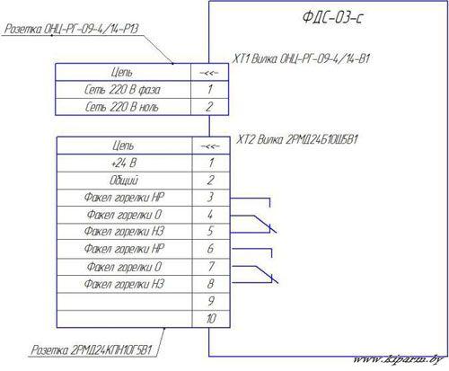 Фотодатчик фдс-03 схема
