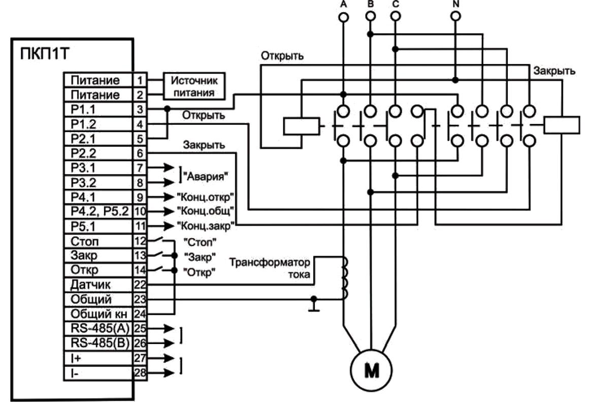 принципиальная схема подключения сигнальной сирены сс-1